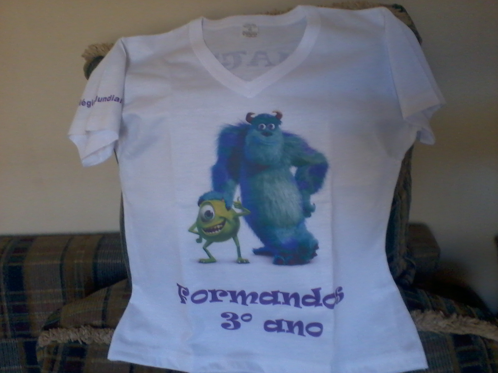 Blusas Baby Luque Dos Formandos