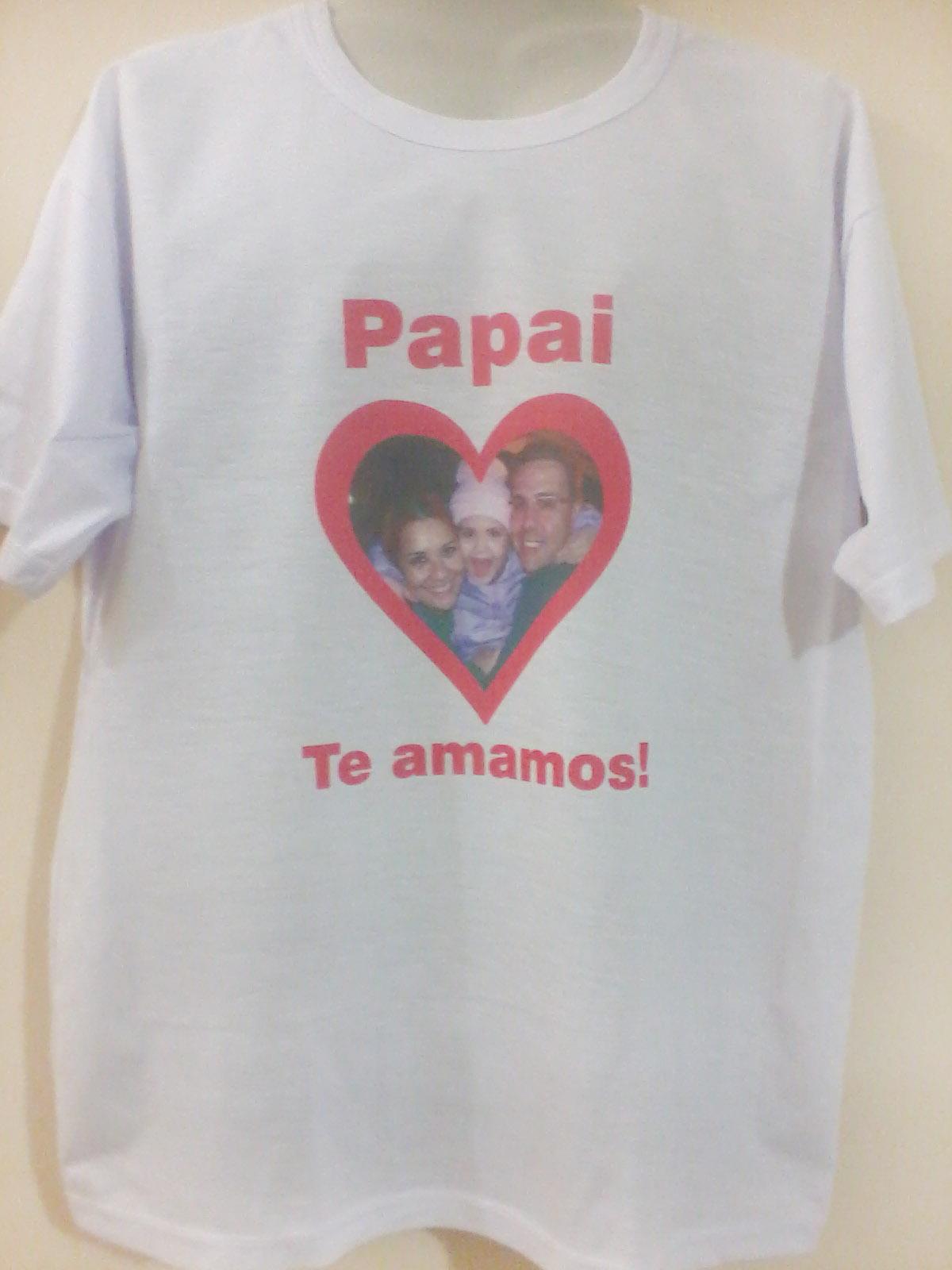 Camisas Dia Dos Pais Kauffmann Estamparia