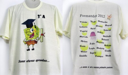 As Camisetas Dessa Turma De Formandos Do 3   Ano    Tem  Tica Do