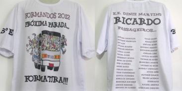 Camisetas Formandos 3º Ano Kauffmann Estamparia