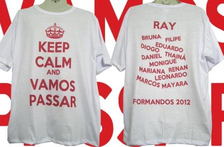 Camisetas     Formandos 2012