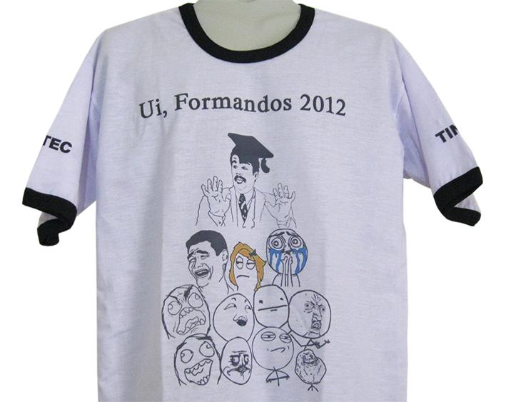 Camisetas De Formandos Criativas Kauffmann Estamparia