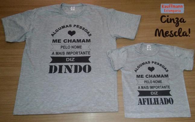 E a cor Cinza Mescla voltou! Ótima para fazer camisetas com estilo 0ffb3424634f9